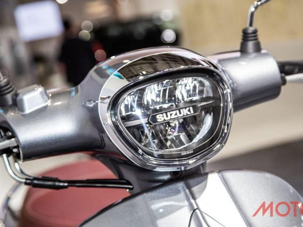 Suzuki Saluto 125, Skuter Bergaya Eropa Penantang Vespa cs