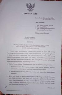 Pemprov Aceh Larang Pengajian Selain Ahlusunah Waljamaah-Mazhab Syafi'i