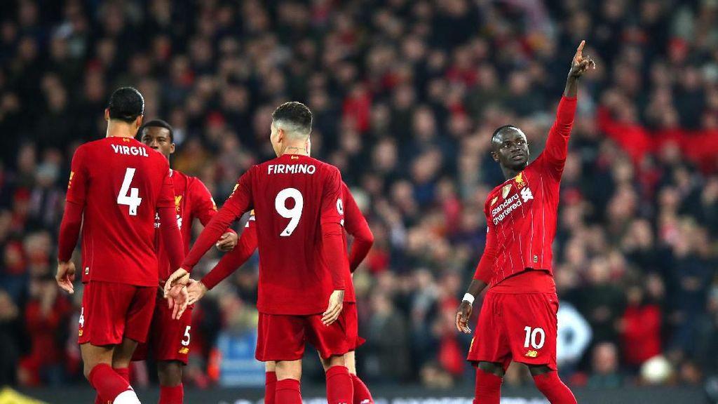 Liverpool Tutup 2019 dengan Kemenangan