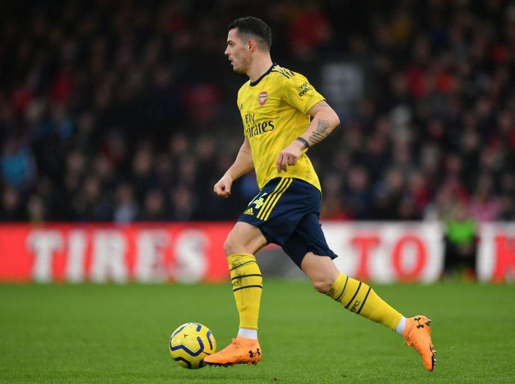 Arteta Tak Ingin Xhaka Tinggalkan Arsenal