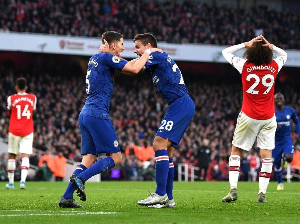 8 Fakta Kemenangan Chelsea di Kandang Arsenal