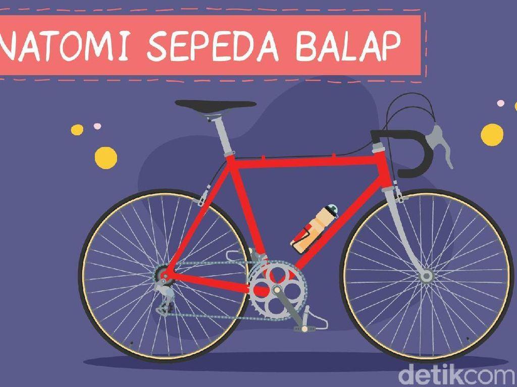 Mengenal Road Bike, Jenis Sepeda Balap yang Kerap Konvoi di Jalan Raya