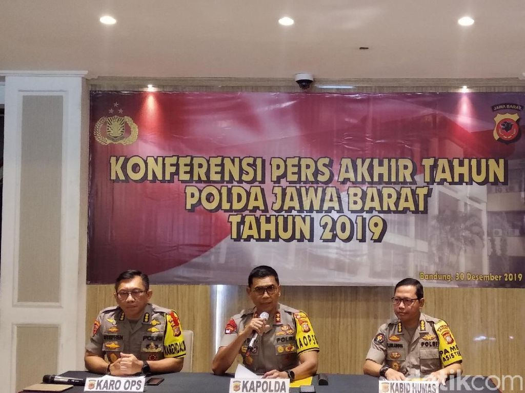 15 Polisi Nakal di Jabar Dipecat Selama 2019