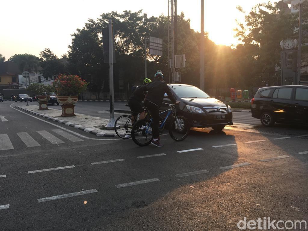 Catat! Polisi Bisa Tilang Pesepeda yang Langgar Jalur Sepeda di Sudirman-Thamrin