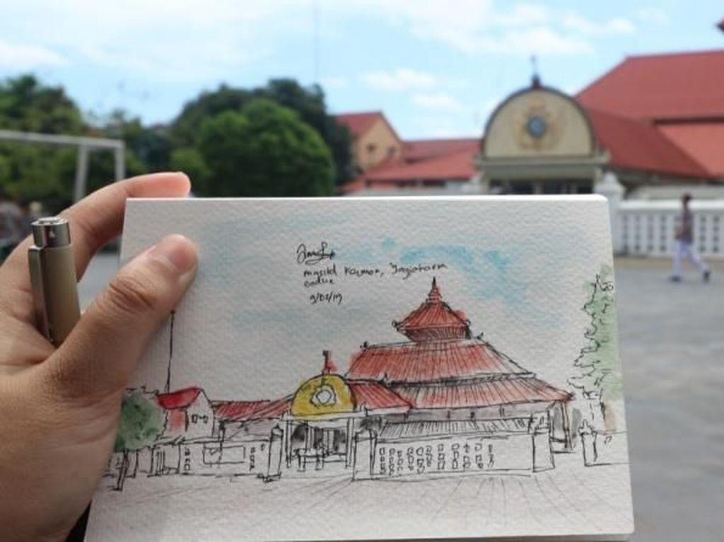 Liburan Sambil Sketching, Bisa Dong