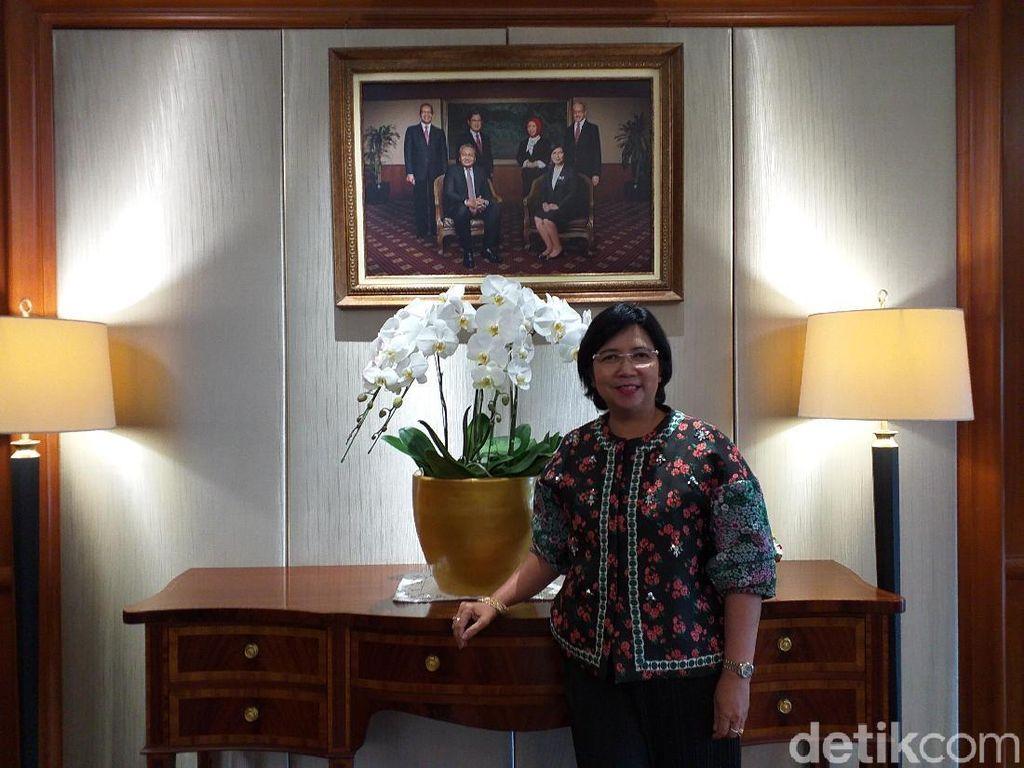 Destry Damayanti, Atlet Tenis Sea Games yang Jadi Bos BI