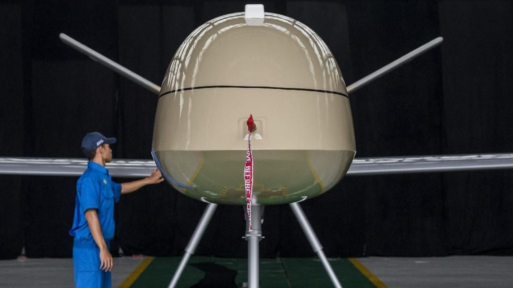 Canggih! Indonesia Punya Pesawat Intai Tanpa Awak