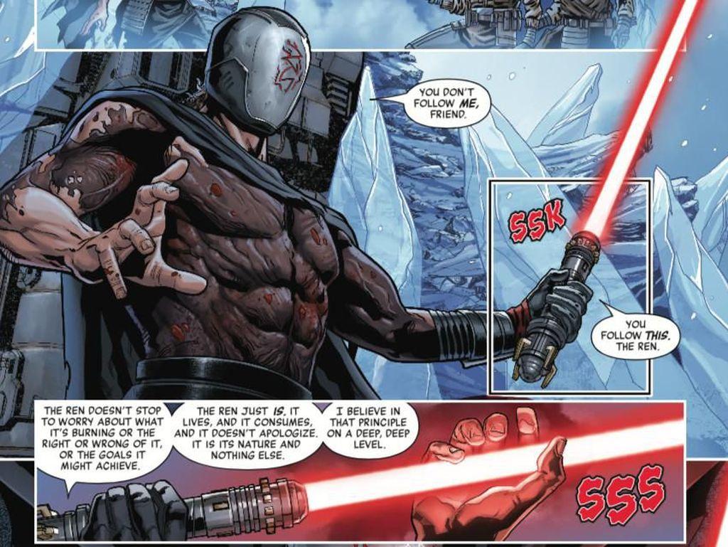 The Rise of Kylo Ren Awal yang Gelap untuk The Rise of Skywalker