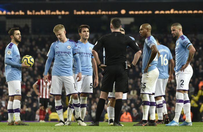 Manchester City, menjamu Sheffield di Etihad Stadium, Senin (30/12/2019) dini hari WIB pada pekan ke-20 Liga Inggris.