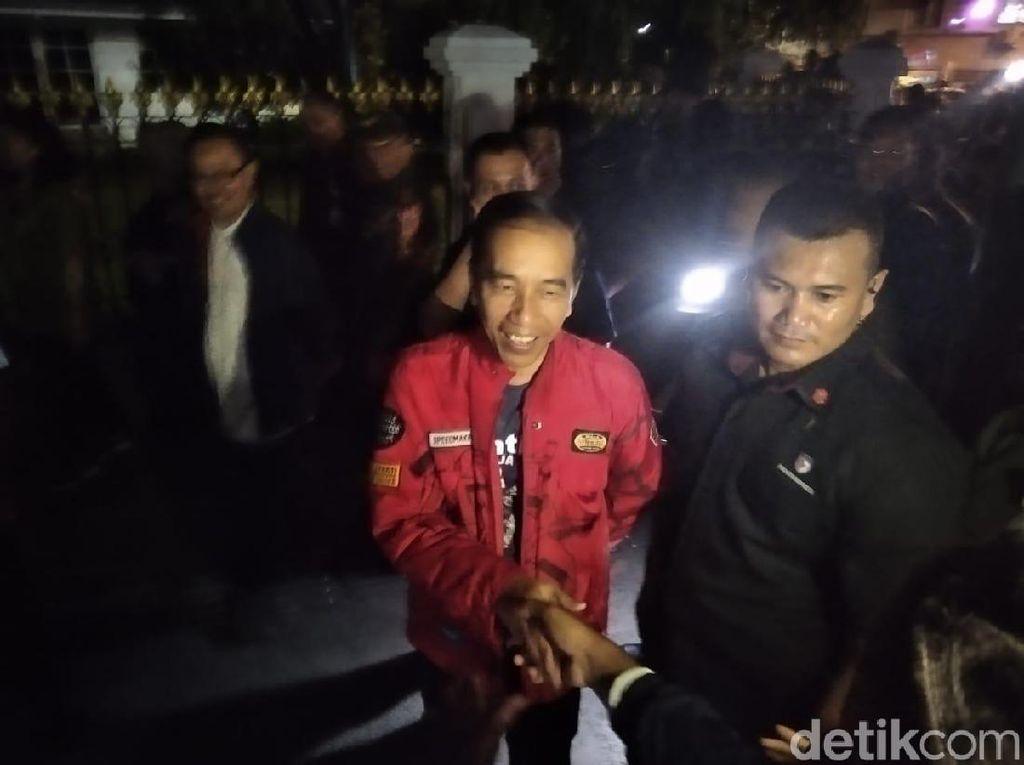 Jokowi Sapa Warga Yogya di Detik-detik Jelang Tahun Baru 2020