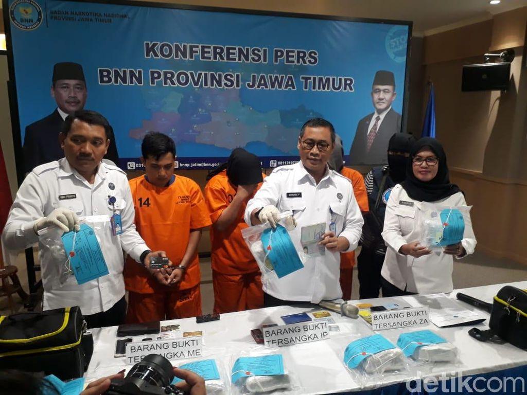 Pengiriman 8 Kg Sabu Asal Malaysia Digagalkan, Tiga Orang Diamankan