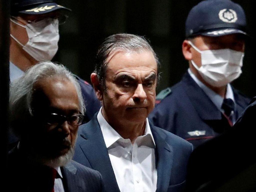 Tangan Kanan Ghosn Bisa Bebas dari Tahanan