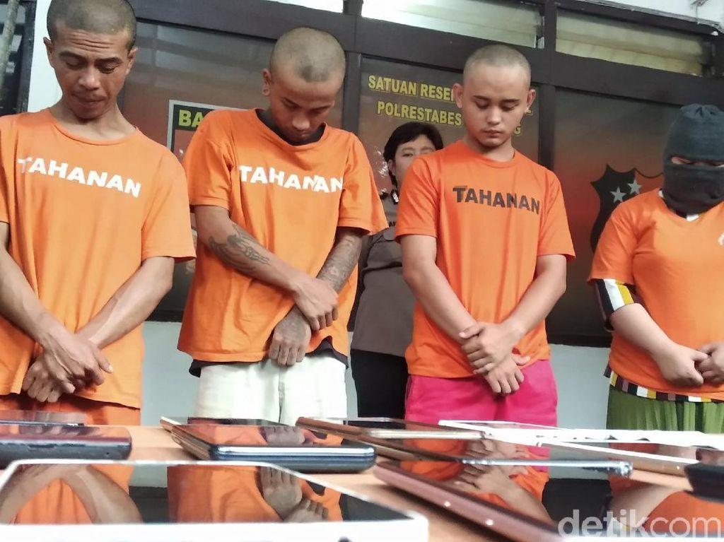 Waspada Malam Tahun Baru di Alun-alun Bandung, Polisi Ciduk 4 Pencopet