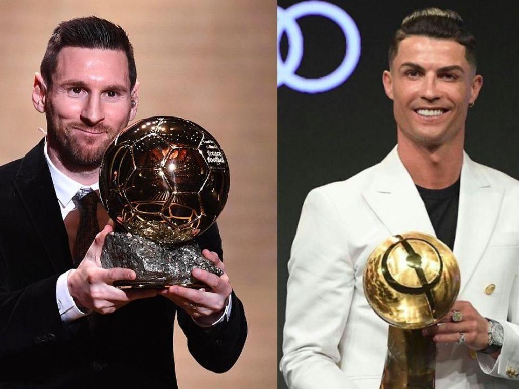 Riset Ilmiah: Messi 2 Kali Lebih Baik dari Cristiano Ronaldo