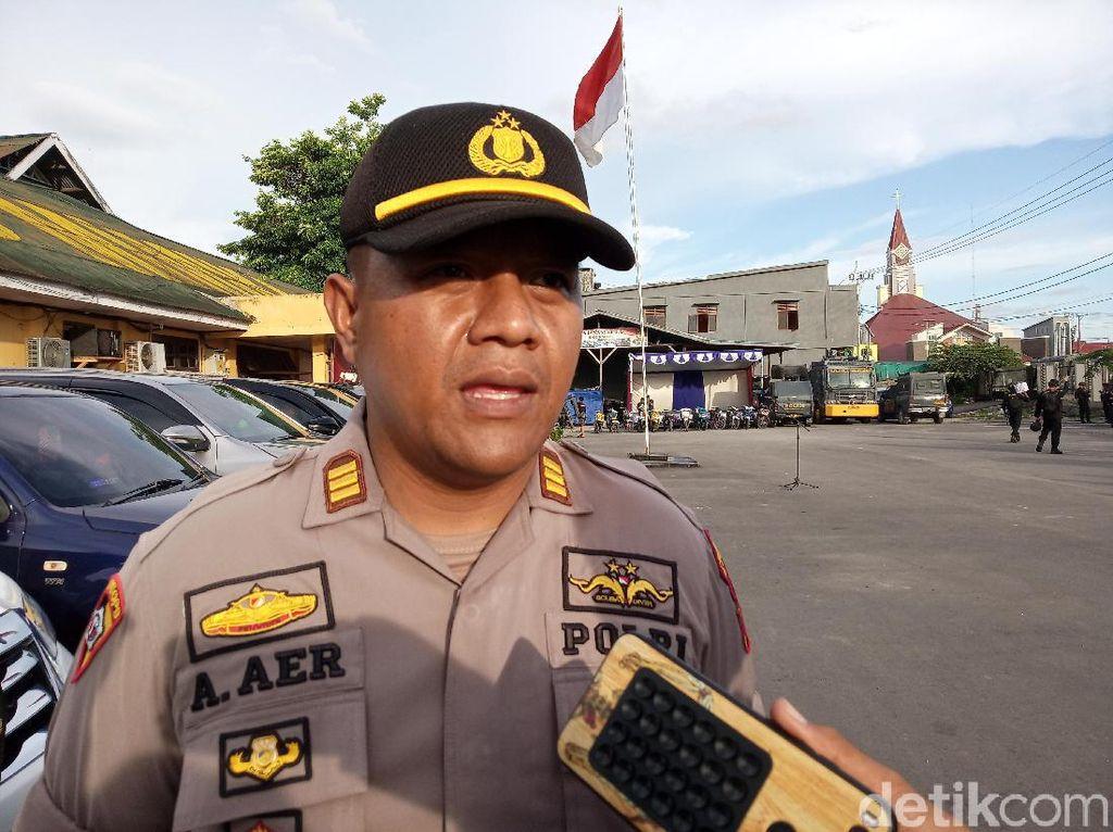 650 Personel TNI-Polri Disiagakan di Timika Papua Saat Malam Tahun Baru