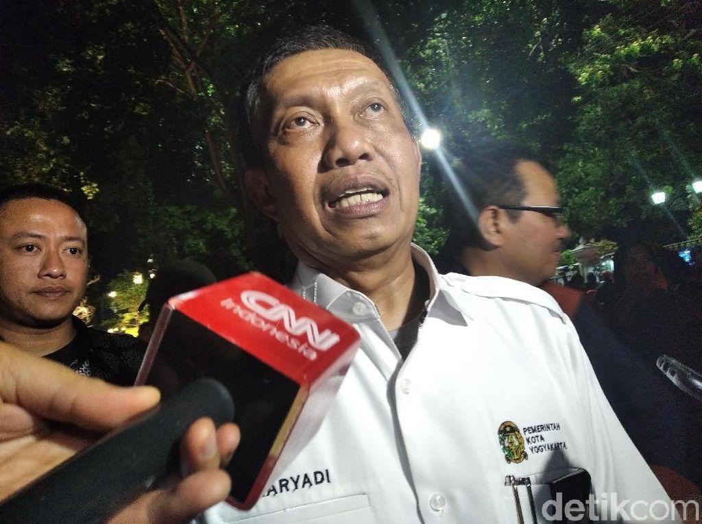 Walkot Yogya: Jika Tak Ngantuk Jokowi Rayakan Tahun Baru di Malioboro
