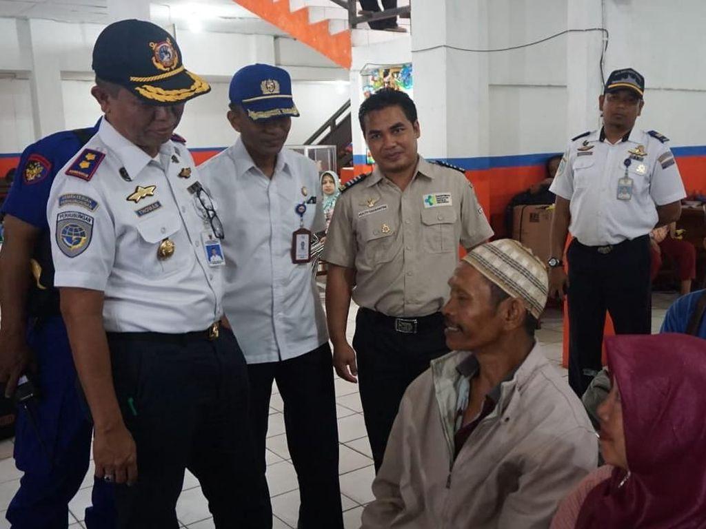 Jumlah Penumpang Kapal di Pelabuhan Sampit Meningkat 40%