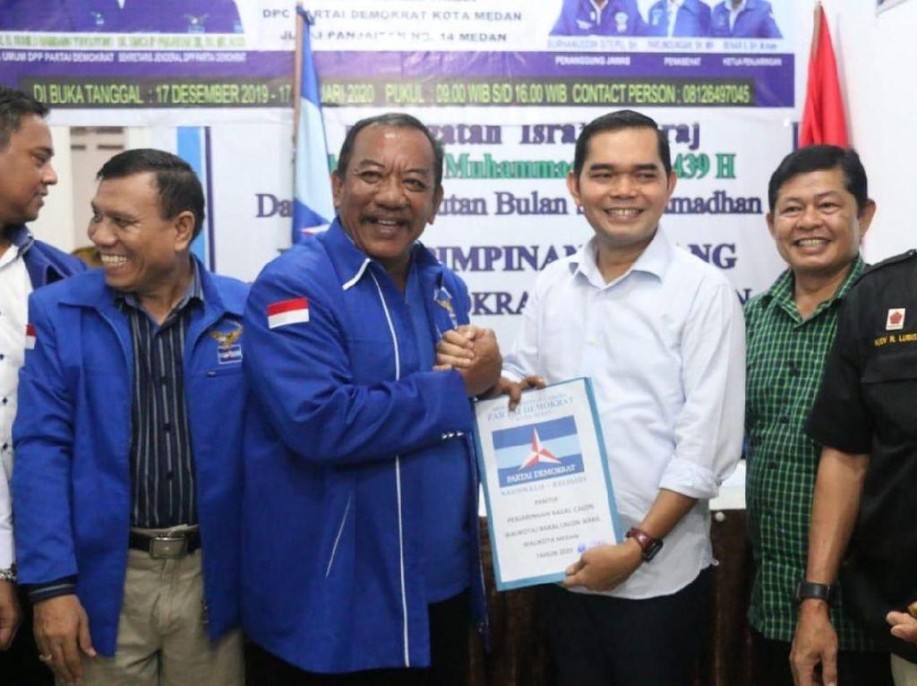 Politikus Gerindra Ihwan Ritonga Daftar Cawalkot Medan ke Demokrat