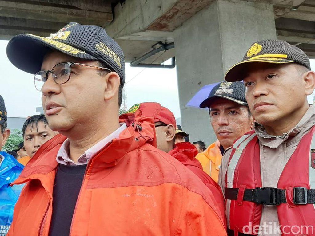 Jurus Anies Hadapi Cuaca Ekstrem di DKI