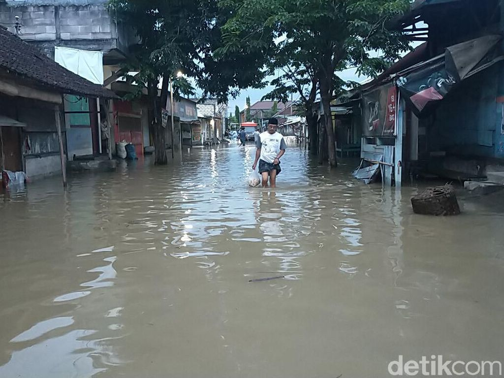 Musim Hujan, Jawa Timur Waspadai Banjir Kiriman Sungai Bengawan Solo