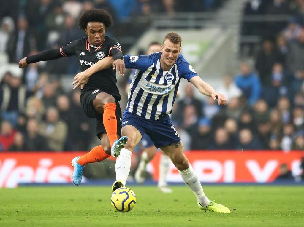 Brighton Vs Chelsea: The Blues Memimpin 1-0 di Babak Pertama