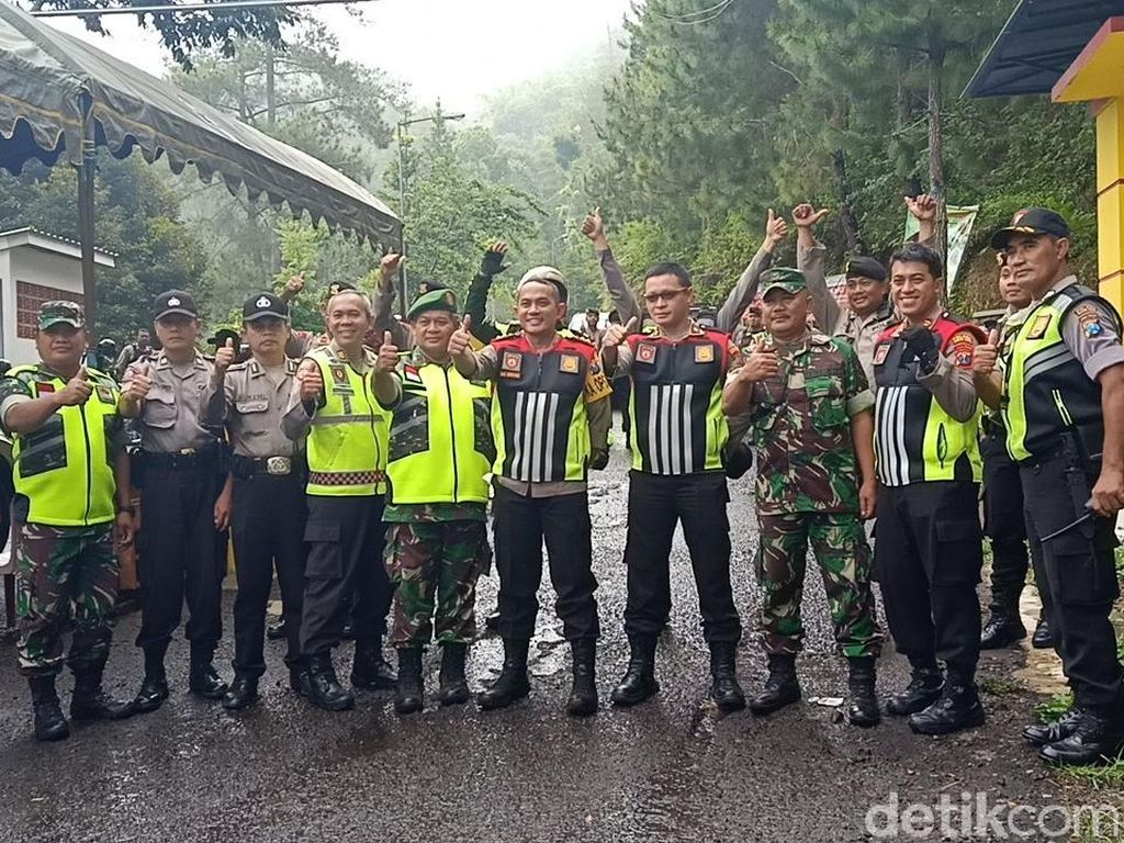 Polisi Kota Kediri Patroli Lokasi Wisata Demi Kenyamanan Wisatawan