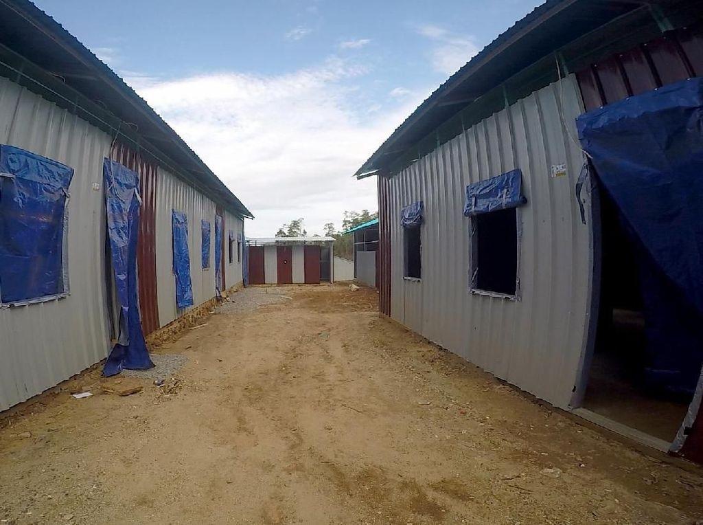 Korban Banjir Konawe Utara Mulai Tempati Huntara