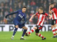 Babak Pertama Usai, Tottenham Tertinggal 0-1 dari Southampton