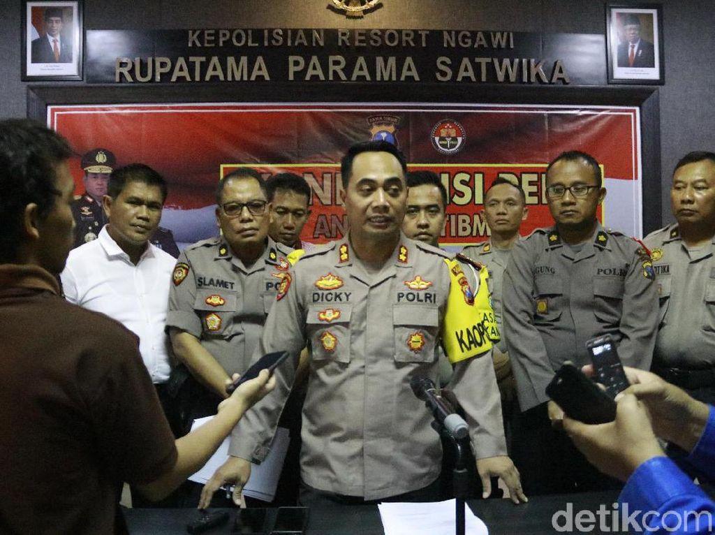 Angka Kriminalitas Tahun 2019 di Ngawi Turun, Kasus Curat Mendominasi
