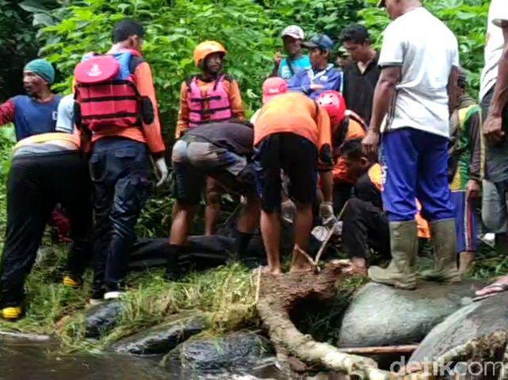 Satu Wisatawan Hilang Terseret Arus di Coban Sinde Malang Ditemukan