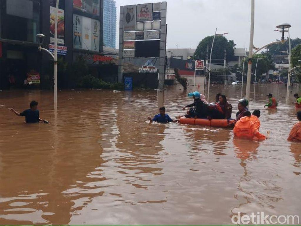 Fakta-fakta Banjir Kemang 1-2 Januari 2020