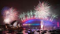 Foto: Meriahnya Pesta Kembang Api Tahun Baru di Berbagai Negara