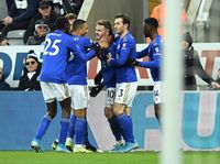 Leicester City Hajar Newcastle United 3-0