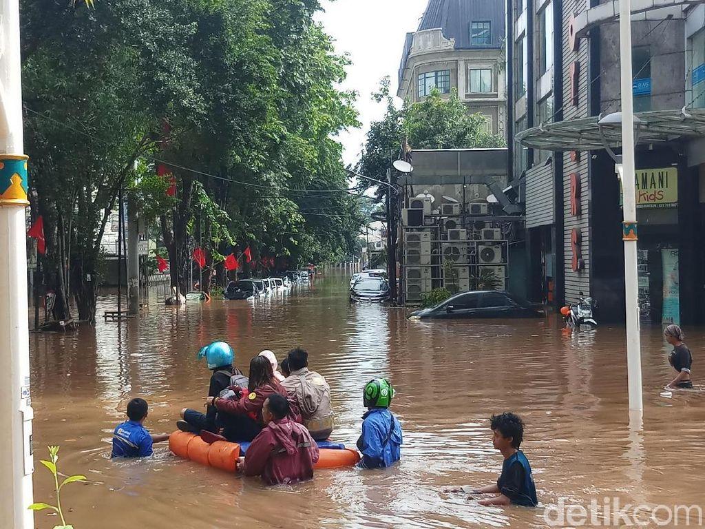 Gara-gara Banjir, Pengiriman Paket JNE dan J&T Bakal Molor
