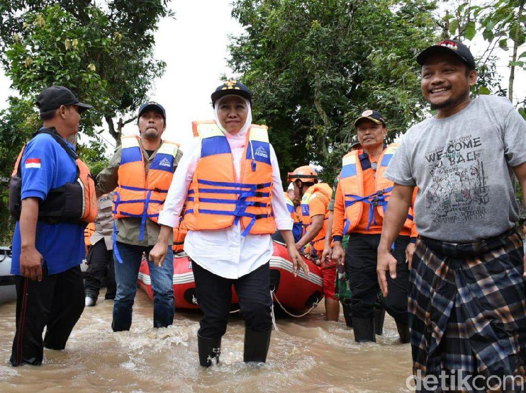 Jakarta Banjir, Gubernur Khofifah Minta OPD di Jatim Lebih Responsif