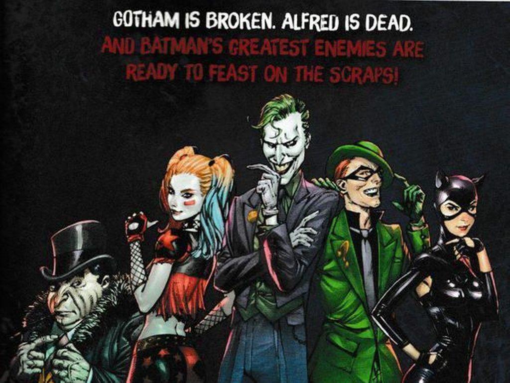 Kematian Alfred Pennyworth Juga Muncul di Komik Ini