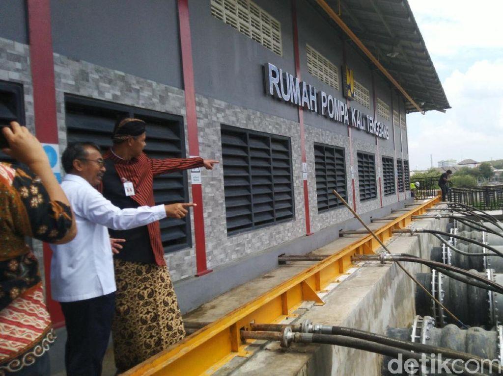Antisipasi Banjir, Pompa di Utara Semarang Diaktifkan