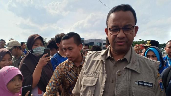 Gubernur DKI Jakarta Anies Baswedan (Faisal Javier/detikcom)