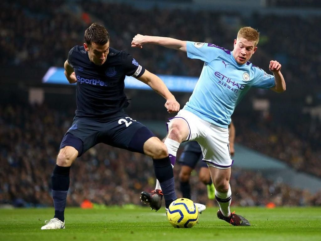 Gol Foden Dianulir VAR, Man City Vs Everton Imbang 0-0 di Babak Pertama
