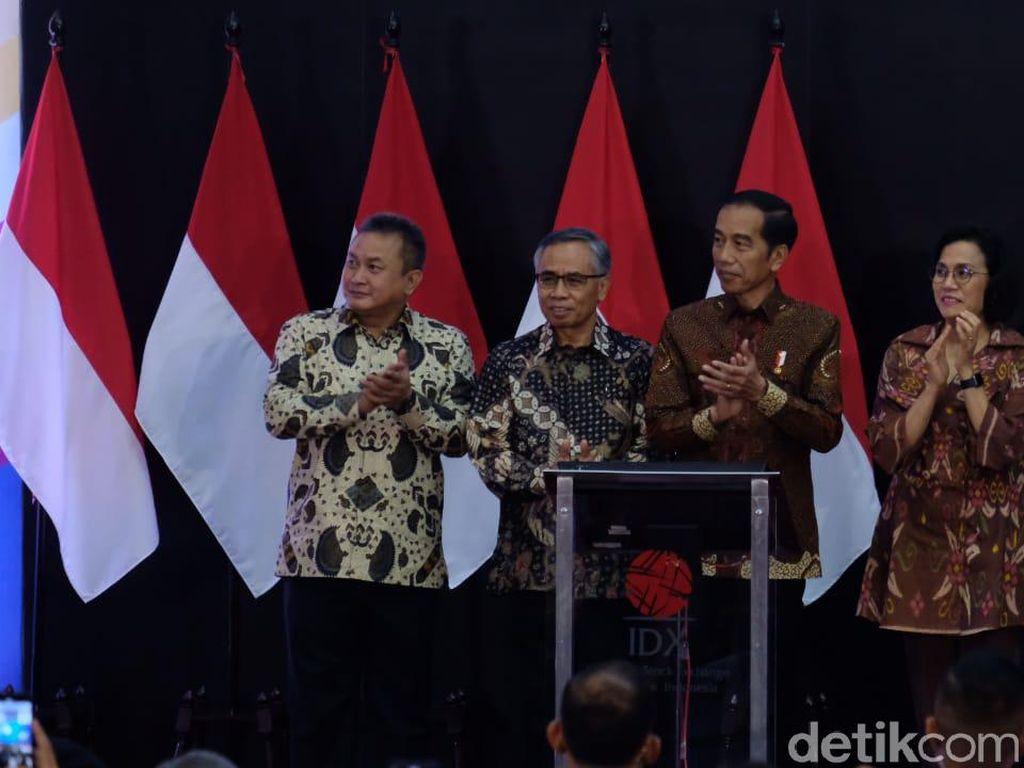 Jokowi: Bersihkan Pasar Modal dari Praktik Goreng Saham
