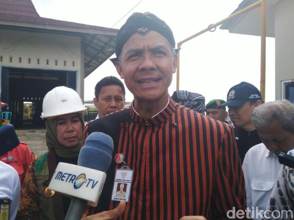 Gubernur Ganjar Siap Kirim Bantuan untuk Tangani Banjir di Jakarta