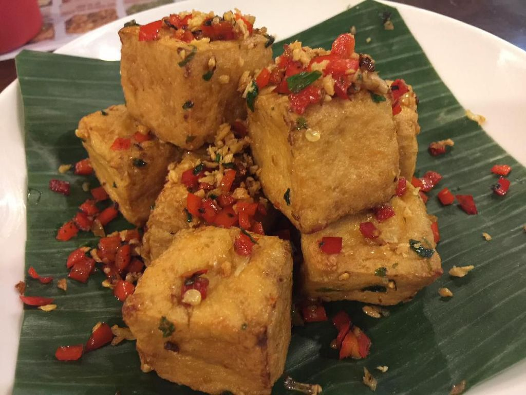 Resep Tahu : Tahu Krispi Cabe Garam