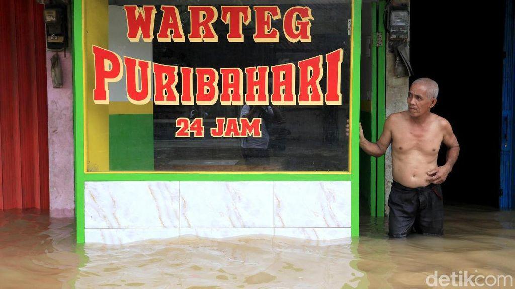 Waduh, Kawasan Ciledug Indah Tak Luput dari Banjir
