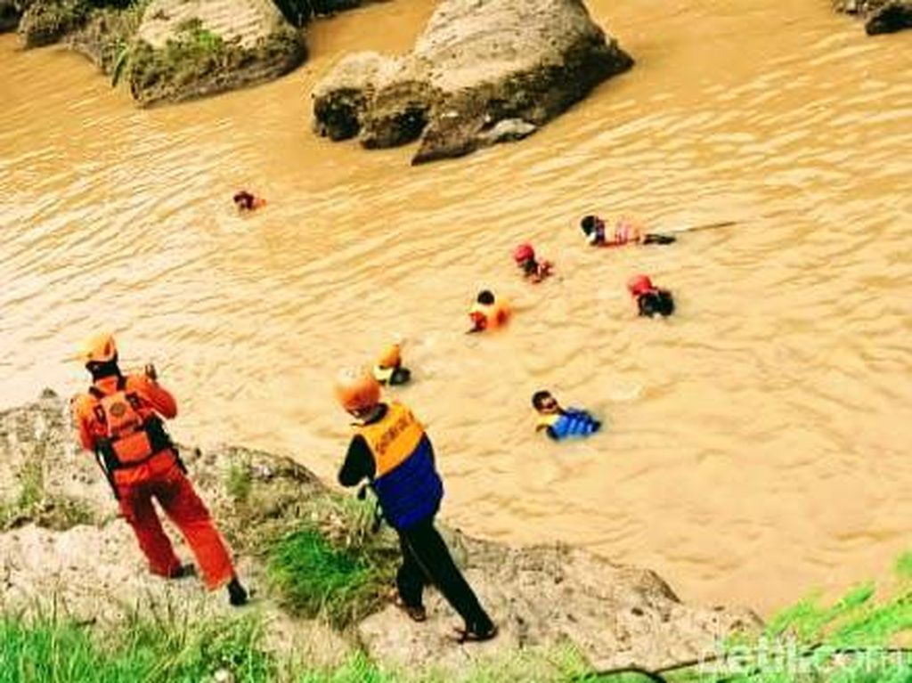 Pencarian Warga Bondowoso yang Hilang di Sungai Sampean Dihentikan