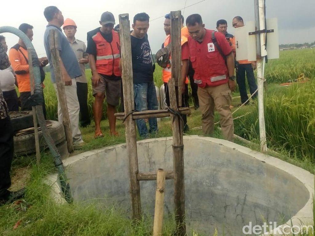 2 Warga Sragen Tewas Diduga Hirup Gas Beracun Dalam Sumur