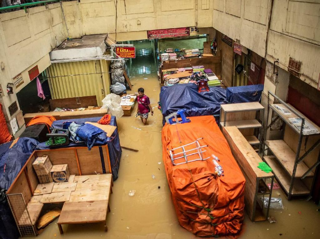 Rugi Rp 350 M, Ini Daftar Pasar yang Terdampak Banjir