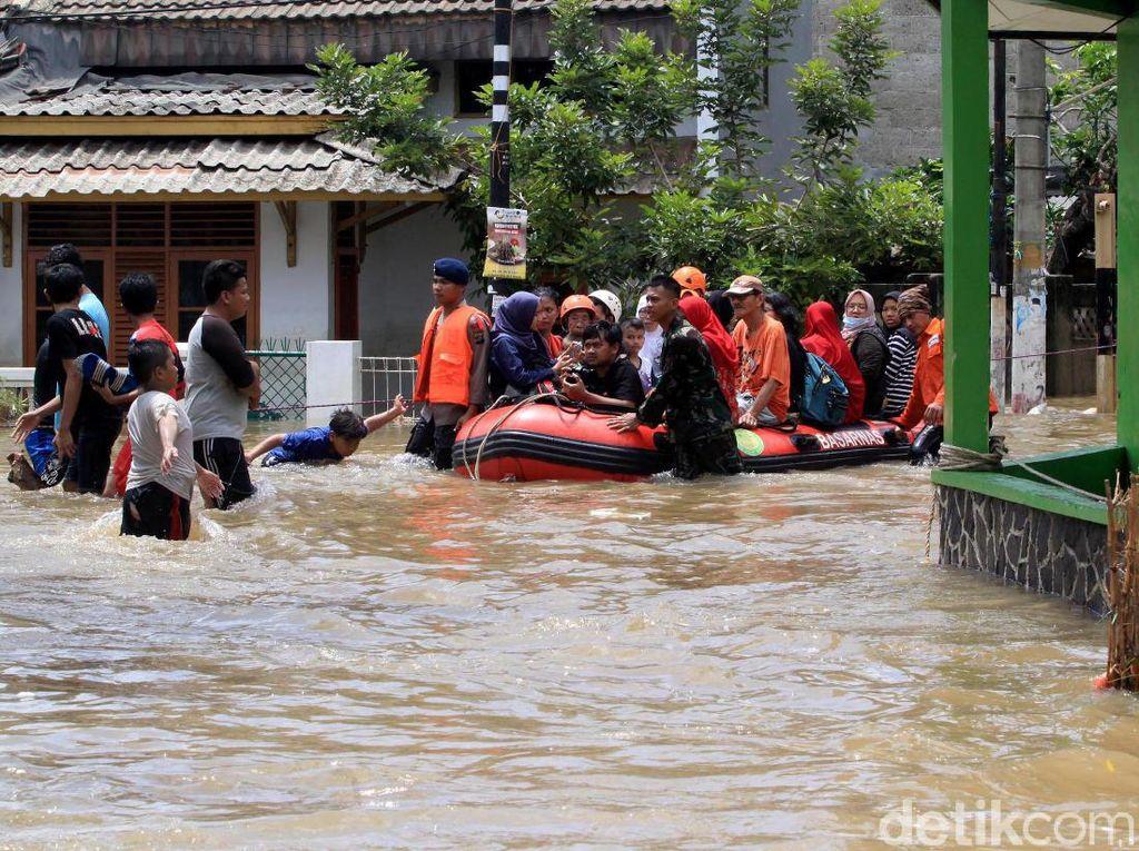 Pantau Kondisi Banjir Jakarta Lewat Situs Ini