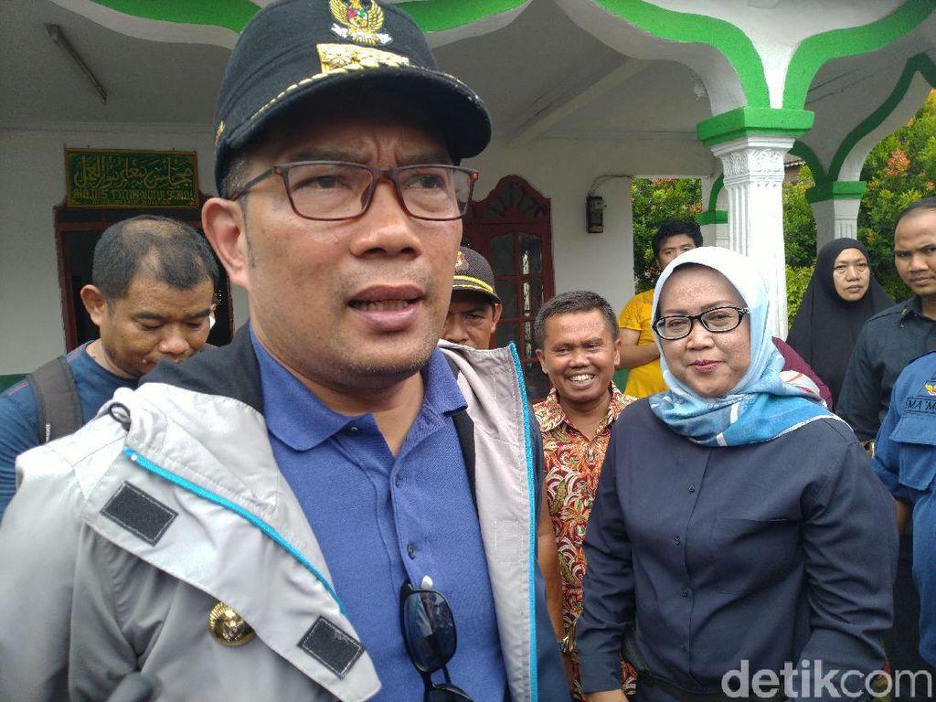 Ridwan Kamil Akan Kumpulkan Kepala Daerah Terdampak Banjir-Longsor