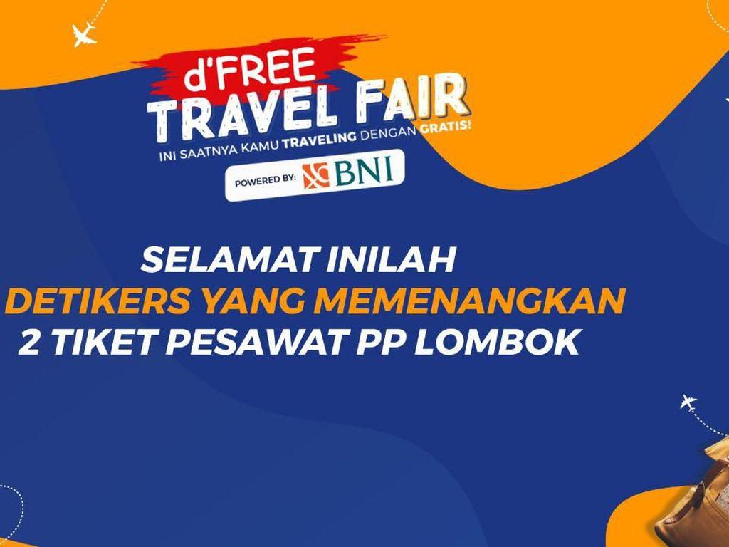 Pengumuman Pemenang Tiket Pesawat Gratis ke Lombok