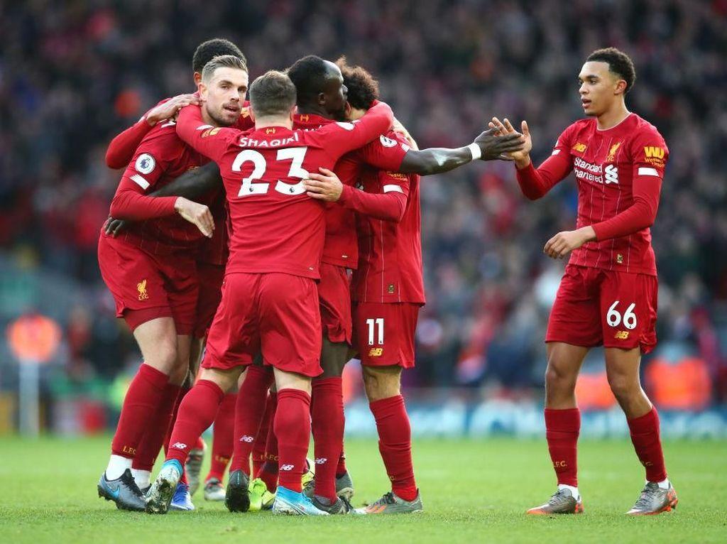 Liverpool Juara Liga Inggris, Skuat The Reds Panjatkan Rasa Syukur